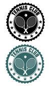 Tennis club stamp — Cтоковый вектор