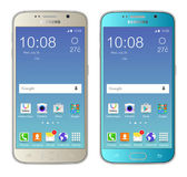 Samsung galaxy s6 — Stock Vector