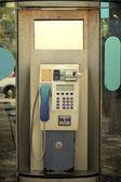 Old Street Telephone Cabin — Stok fotoğraf