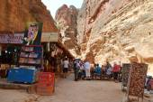 Tourists Souvenirs Area — Stock Photo