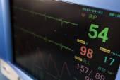 Health care portable monitoring equipment — Stock Photo