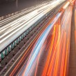 Busy Night Traffic Motion Blur — Stock Photo #55057665