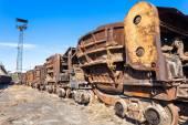 Heavy industry factory scene — Stock Photo