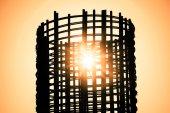 İnşaat, hisse senedi inşaat demiri — Stok fotoğraf