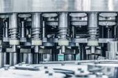 Details of the machine,drinks production plant in China — Stock Photo
