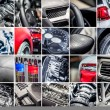 Car details collage — Stock Photo #55238477