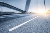 Motion blur of the road — ストック写真