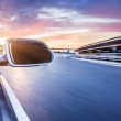 Ar on the road whit motion blur background — Stock Photo #68132799
