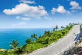 The seaside highway — Stock Photo