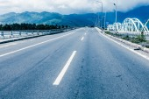 Road in vietnam — Stock Photo