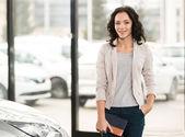 Car sales — Stock Photo
