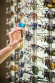 Sunglasses store — Stock Photo