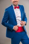 Fashion suit — Stock Photo