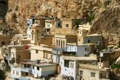 Ma'loula, Maaloula, or Ma'lula — Stock Photo