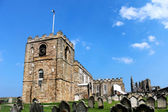St Marys Church in Whitby — Stock Photo