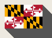American State of Maryland flag — Stock Photo