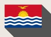Kiribati flag — Stock Photo