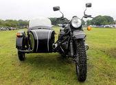 Motorbike and sidecar — Stock Photo