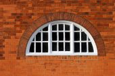 Oval window — Stock Photo