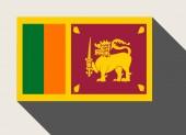 Sri Lanka flag — Stock Photo