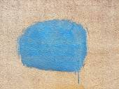 Blue spot of paint  — Stock Photo