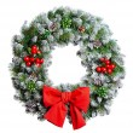 Christmas wreath — Stock Photo #56007267