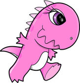 Tough Dinosaur T-Rex Vector Illustration Art — Stock Vector