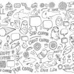 Notebook Doodle set — Stock Vector #61639153