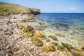 Black Sea in Crimea — Stock Photo