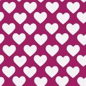 Textura sin fisuras con corazones — Vector de stock