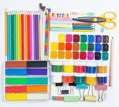 Товары для творчества детей — Стоковое фото