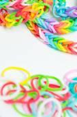 Bracelets made of gum — Stock Photo