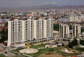 New buildings in the capital city Ulaanbaatar,Mongolia — Stock Photo