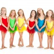 Funny little ballet dancers — Stock Photo #55726817