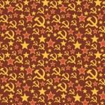 Постер, плакат: Soviet Union seamless pattern