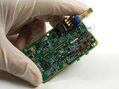 Electronic components and devices — Stock Photo