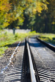 Railway path outdoor — Stockfoto