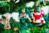 圣诞节和新年的玩具 — 图库照片