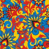 Цветочное украшение — Cтоковый вектор