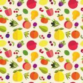 Wzór owoców — Wektor stockowy