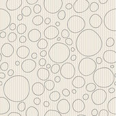 Simple contour circles — Stock Vector
