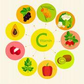 Basics of healthy nutrition — Stock Vector