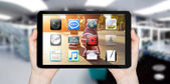Modern digital tablet — Stock Photo