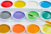 Škola akvarely — Stock fotografie