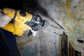 Pneumatic hammer — Stock Photo