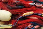 Pescar redes — Foto de Stock