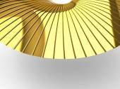 3D textures in GOLD — Stock Photo