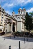 Romanian Orthodox Monastery in Bucharest — Stock Photo