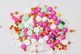 Some medical colorful pills — Stock Photo