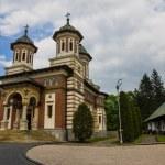 Romanian Sinaia monastery, Sinaia - Romania — Stock Photo #64590543